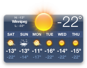 Winnipeg Weather