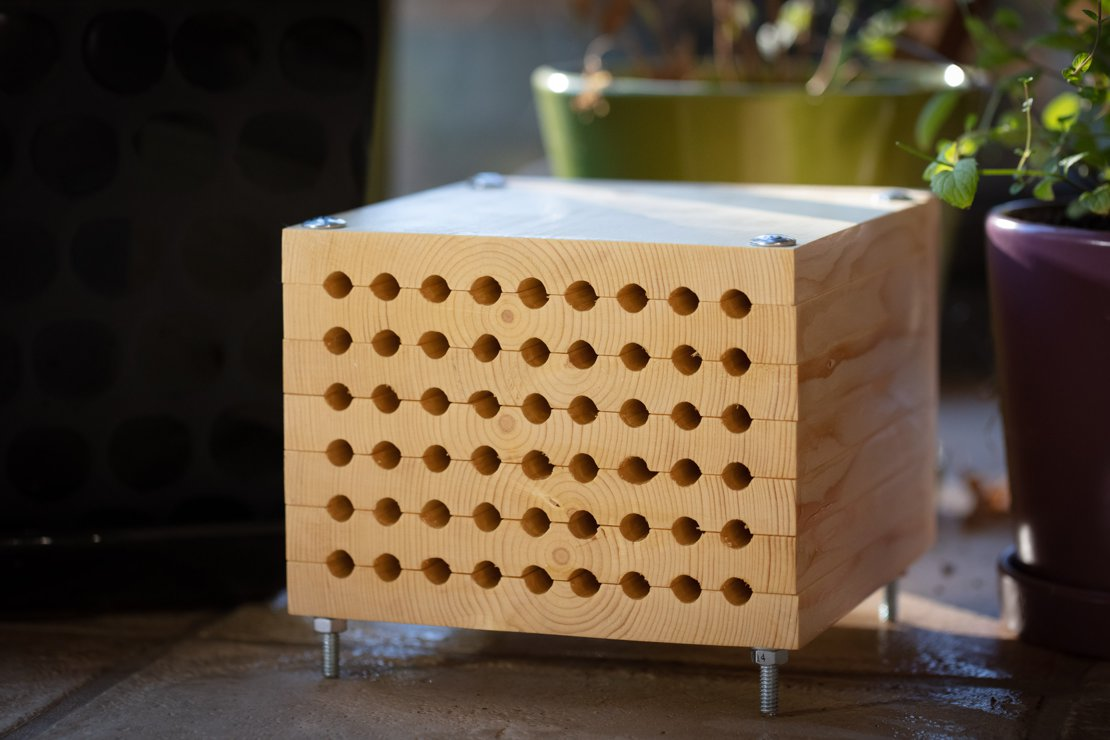 Mason Bee Home Front