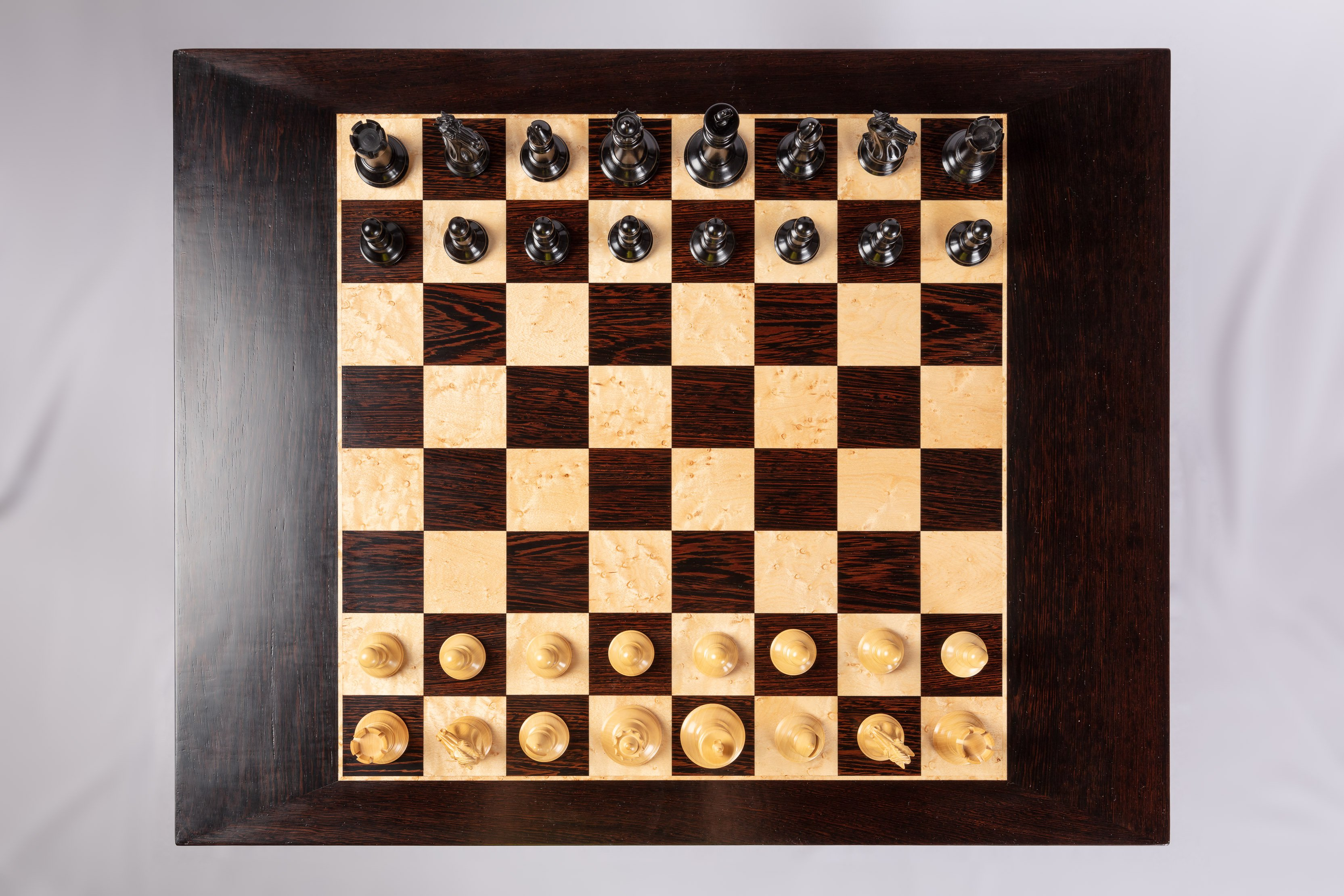 Chess Table Top View
