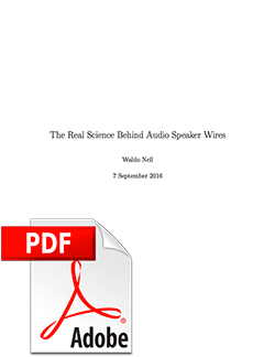 Science Behind Speaker Wires Cover